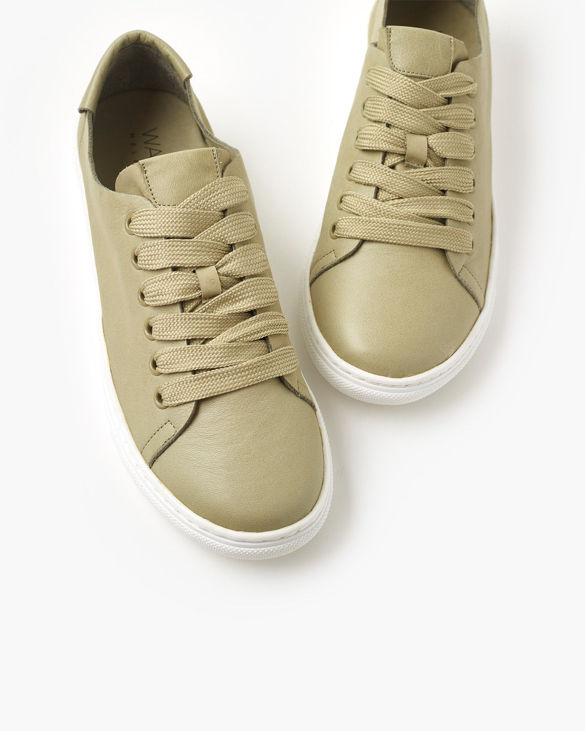 Ulla Leather Sneaker - Khaki