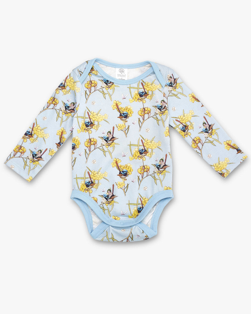 May Gibbs Winter Onesie - Morning Wren