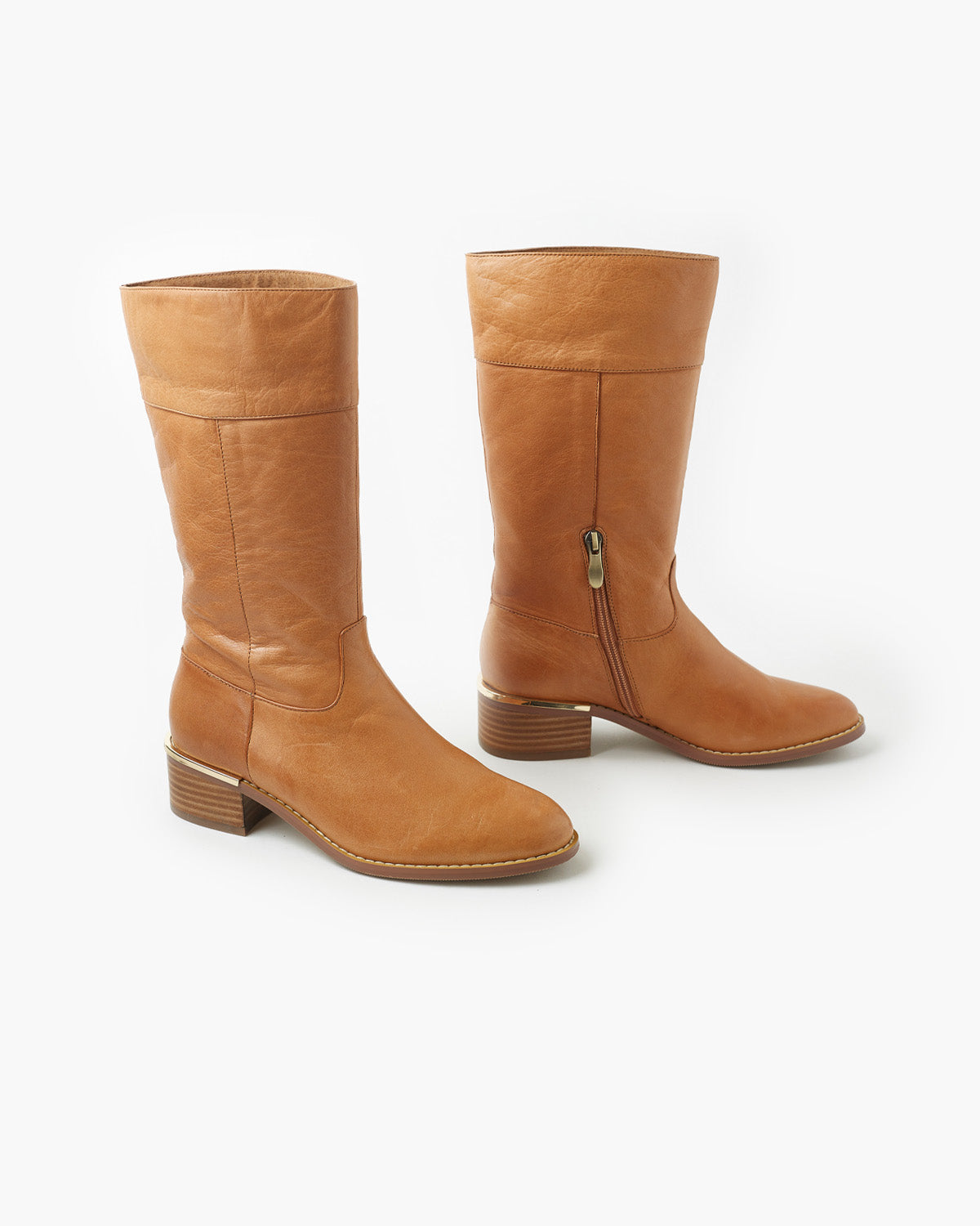 Woodland Leather Boot - Tan