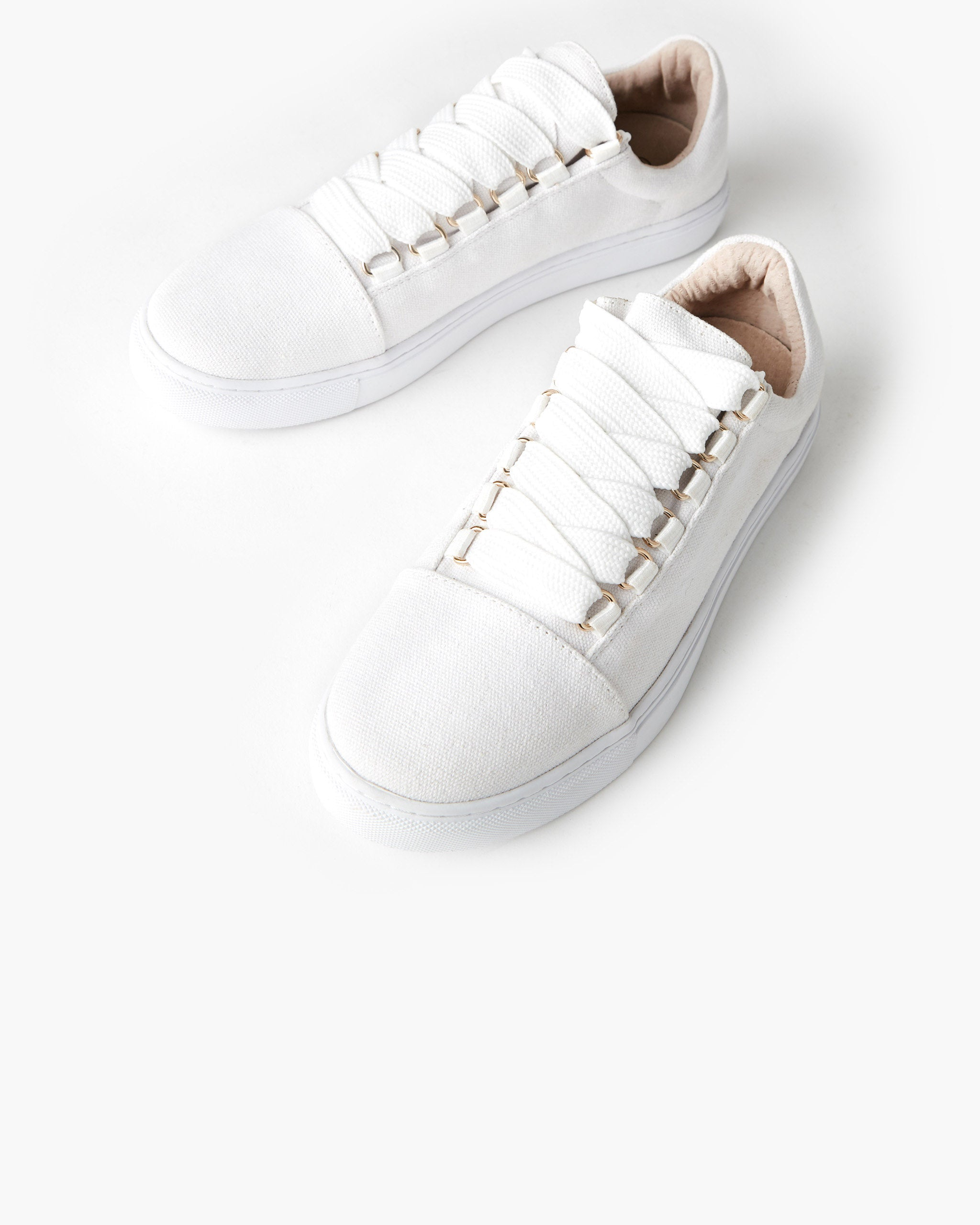 Harris Canvas Sneaker - White