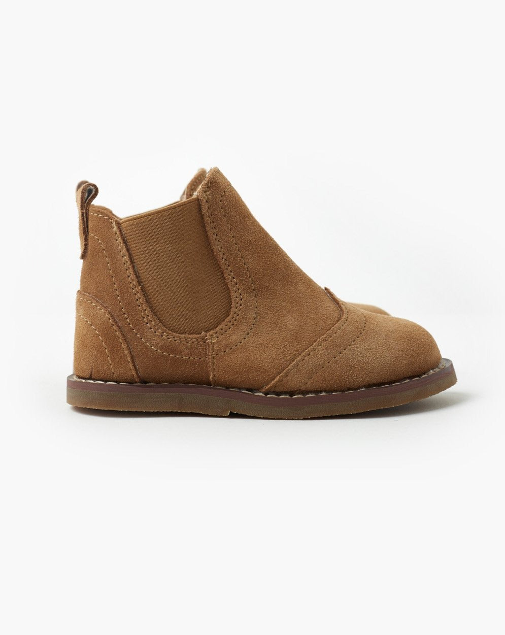 Burrow Suede Boot - Pink