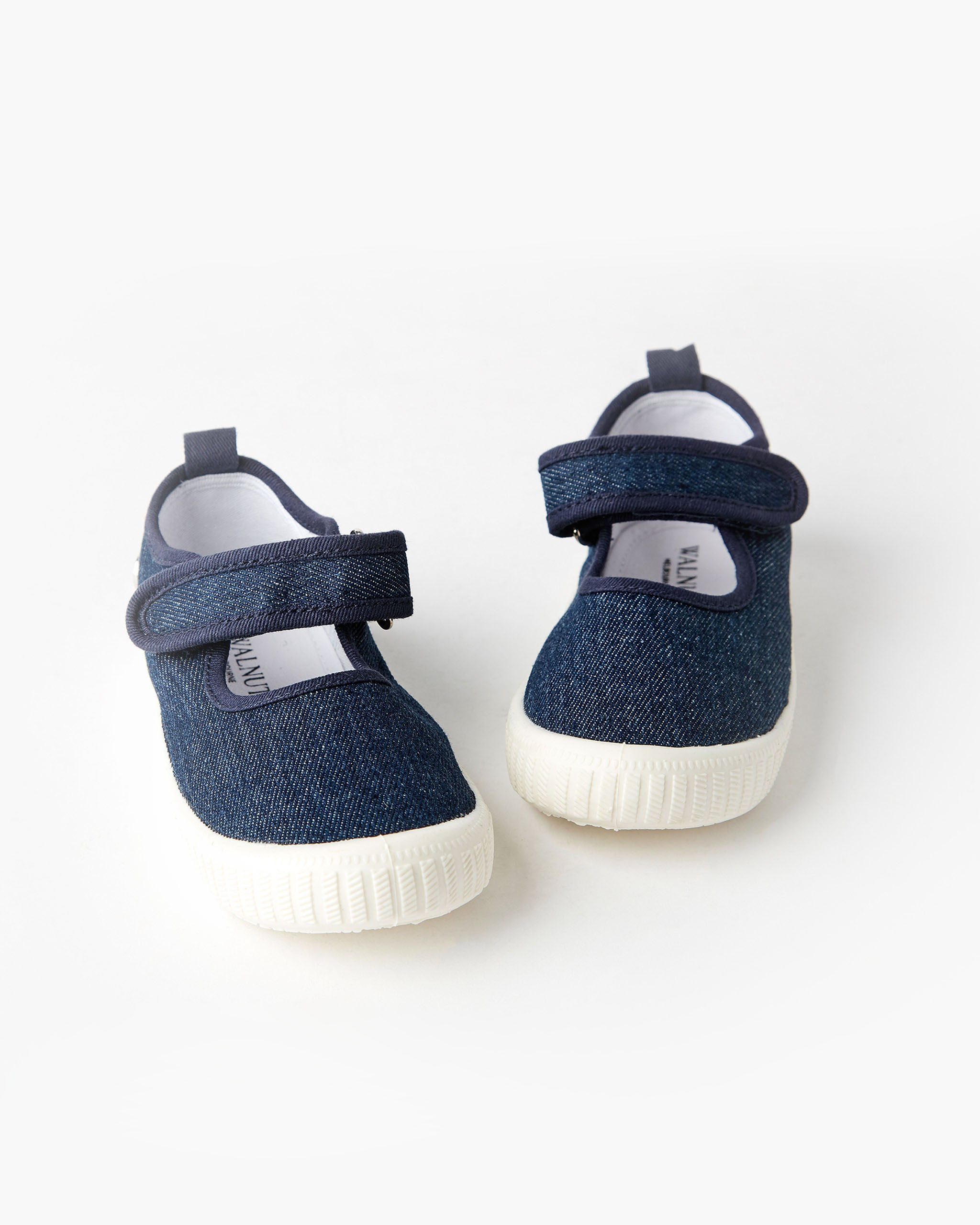 Mary Jane Canvas - Denim