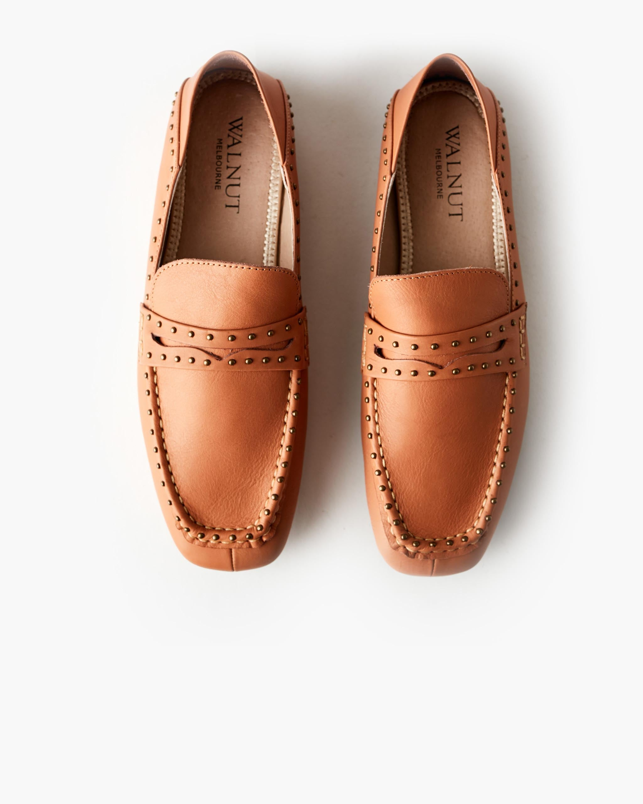 Claude Leather Loafer - Honey