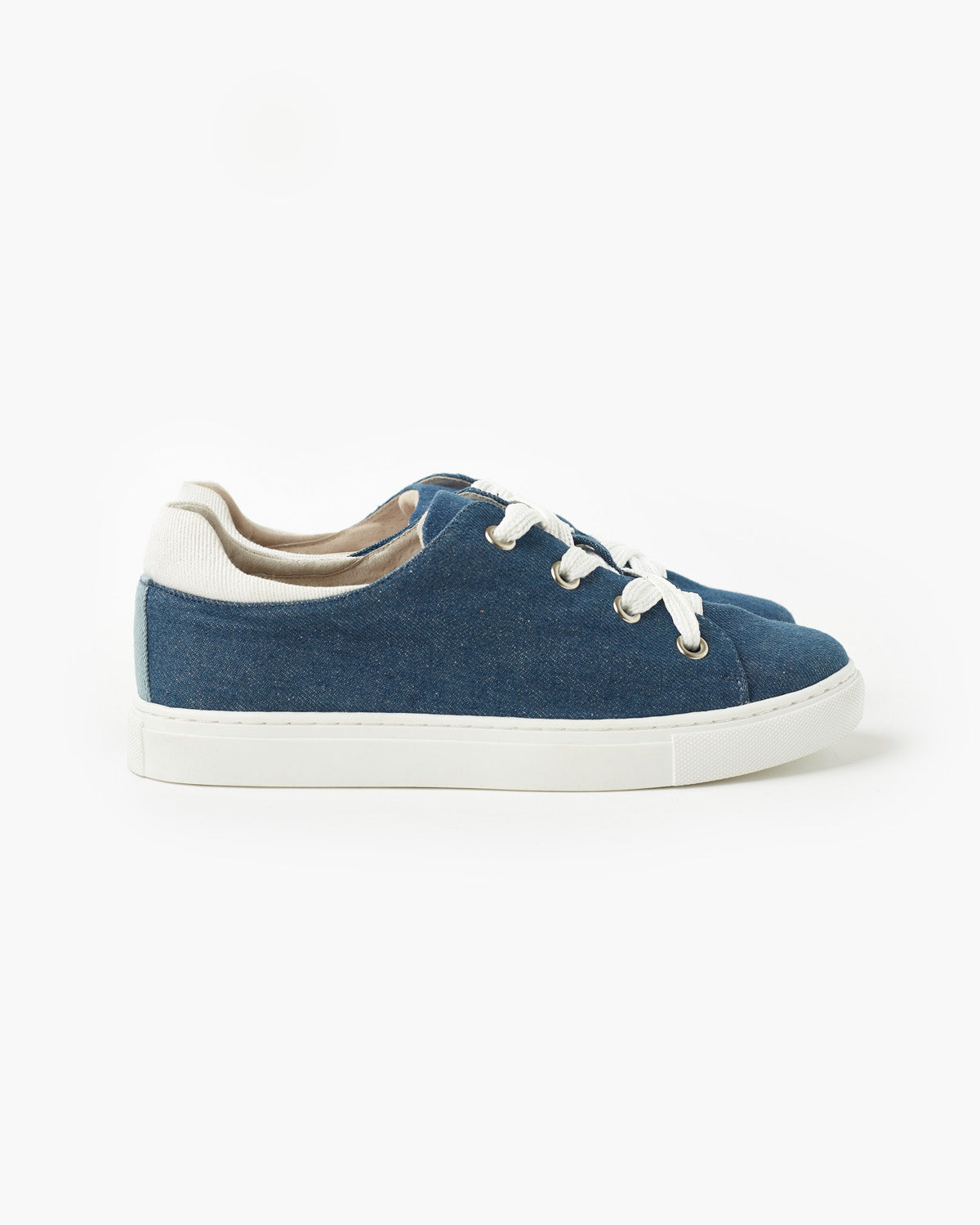 Harriet Canvas Sneaker- Denim