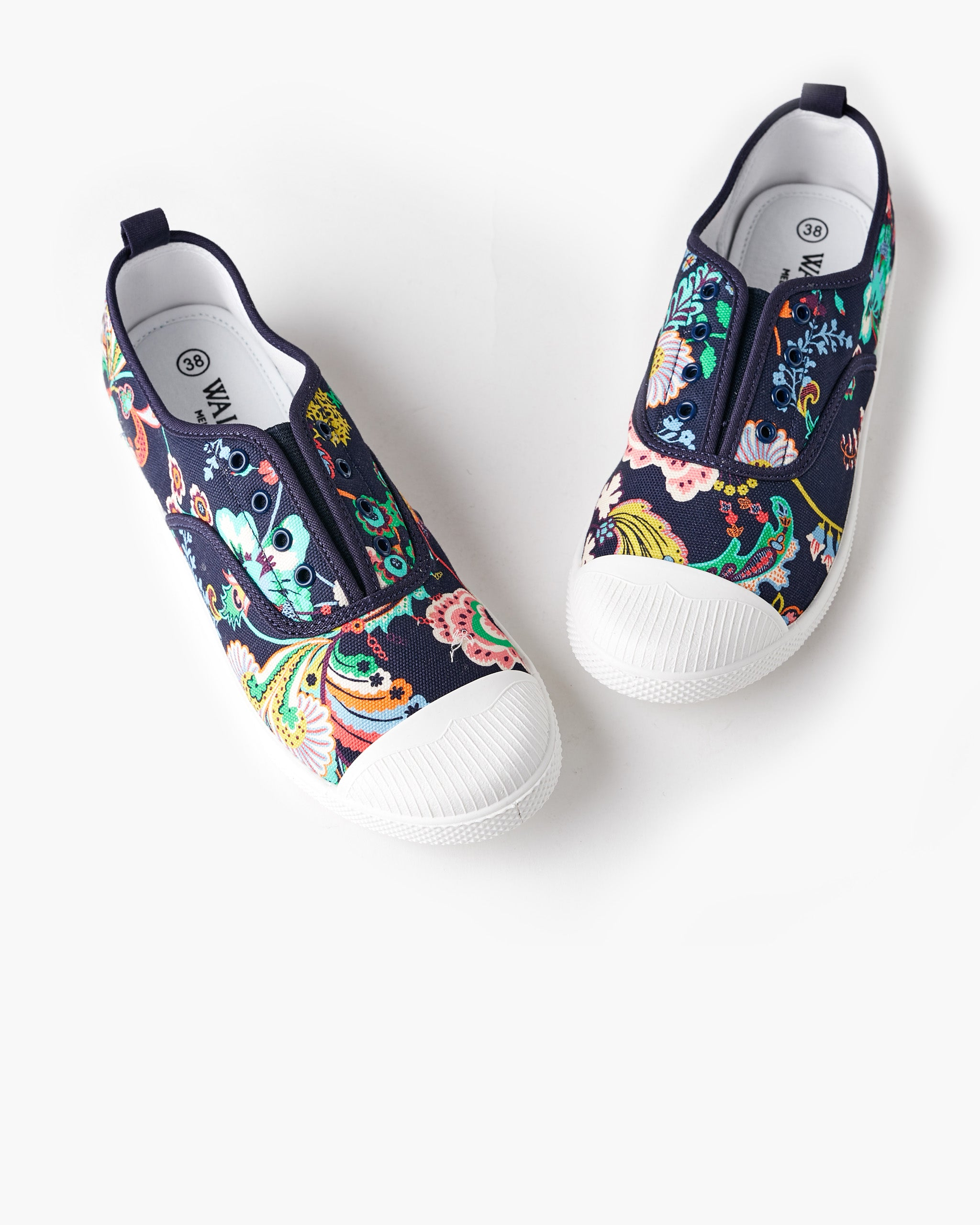 Euro Canvas Plimsole Liberty Fabric - Symphony Story