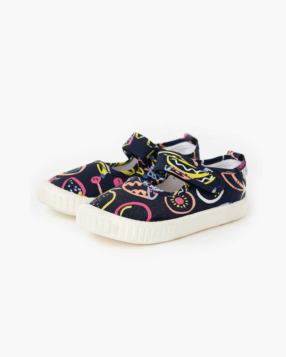 Warehouse Sale Canvas Mary Jane - Fruit Salad