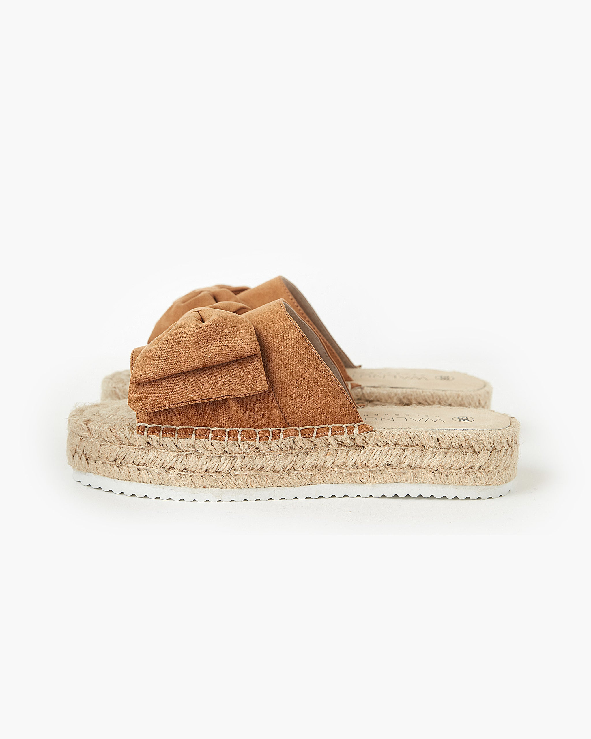 Posey Leather Slide - Cashmere