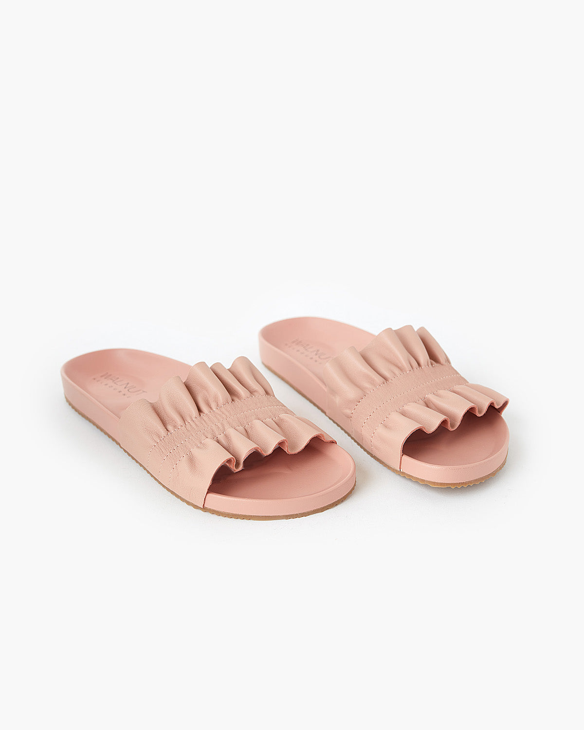 Posey Leather Slide - Peony