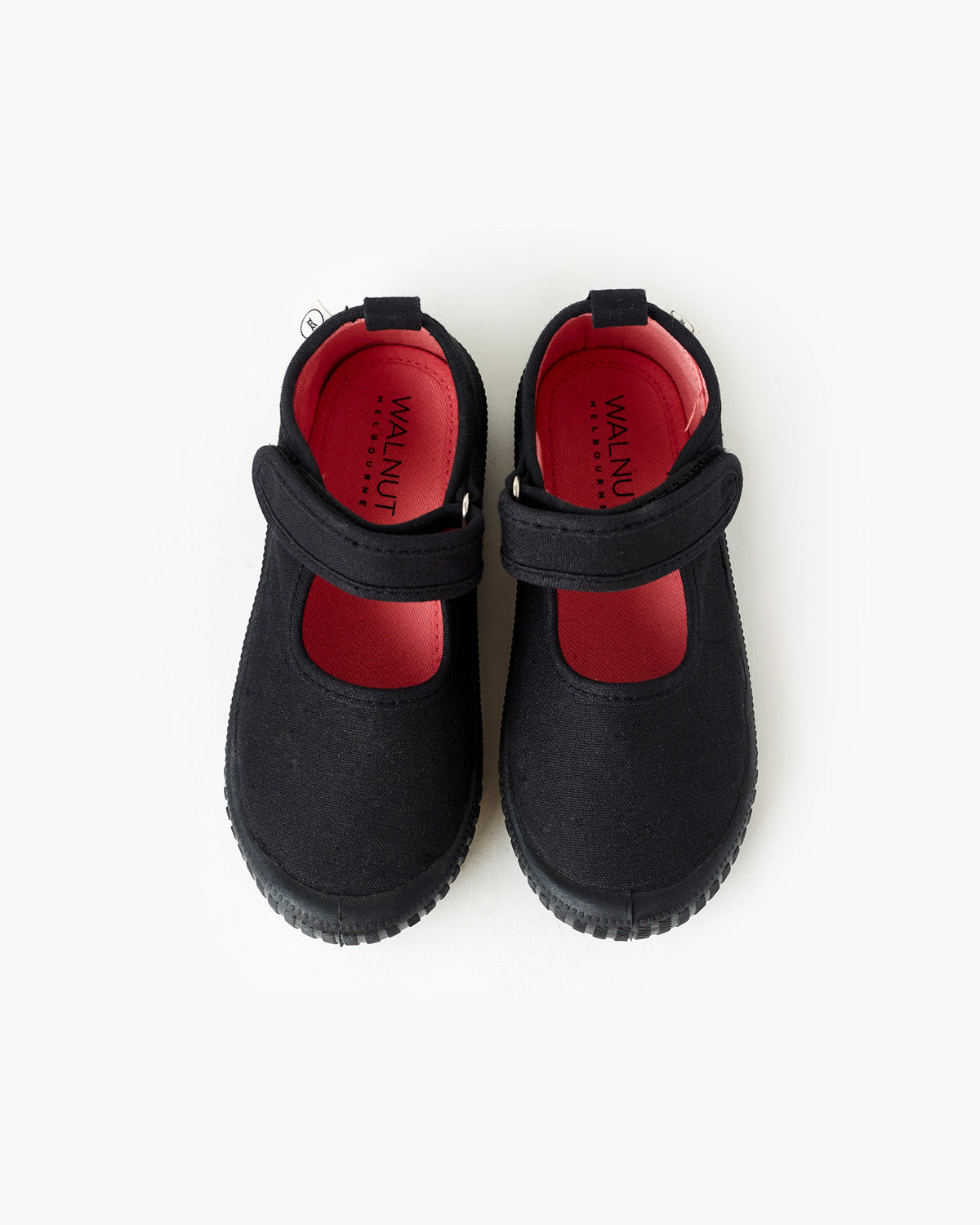 Mary Jane School Canvas - Black