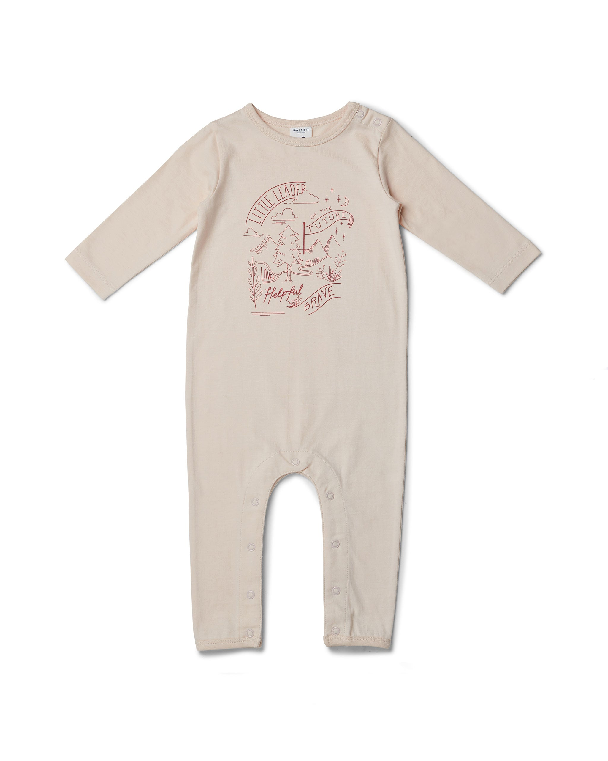 Scout Onesie - Little Leader Pink