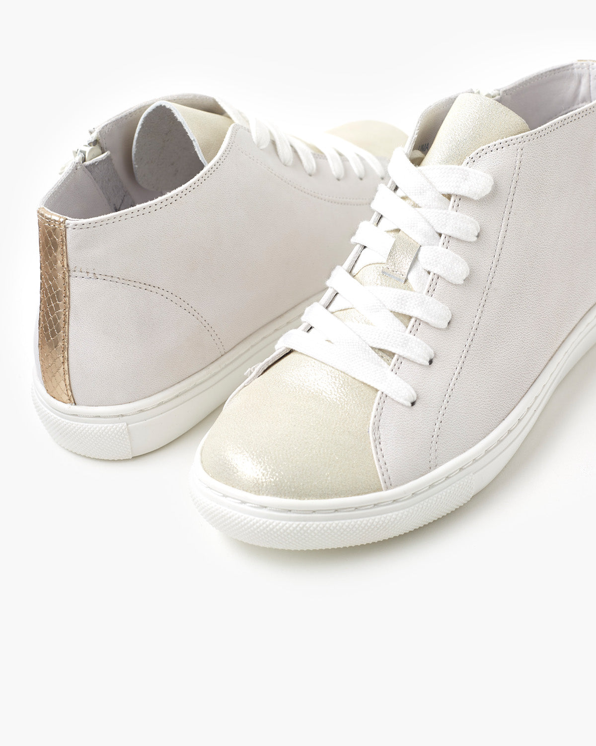 Ulla Leather Sneaker - Off White