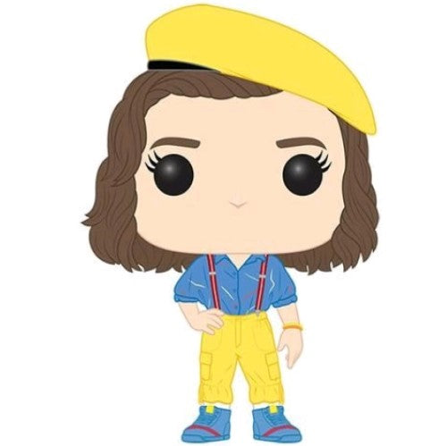 Stranger Things Eleven In Yellow Outfit Us Exclusive Pop