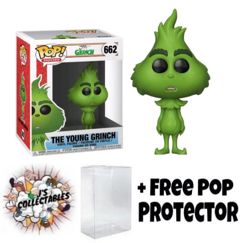 The Grinch 2018 The Young Grinch Pop Vinyl Js
