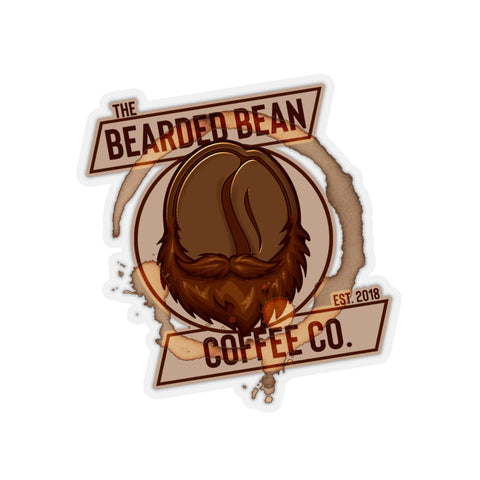 BBCC LOGO STICKER - The Bearded Bean Coffee Company