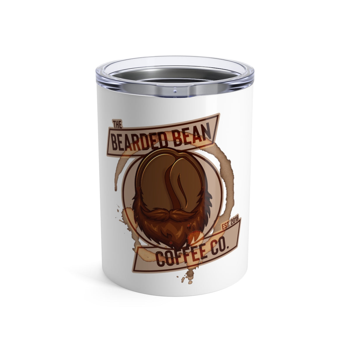 BBCC 10oz TUMBLER - The Bearded Bean Coffee Company