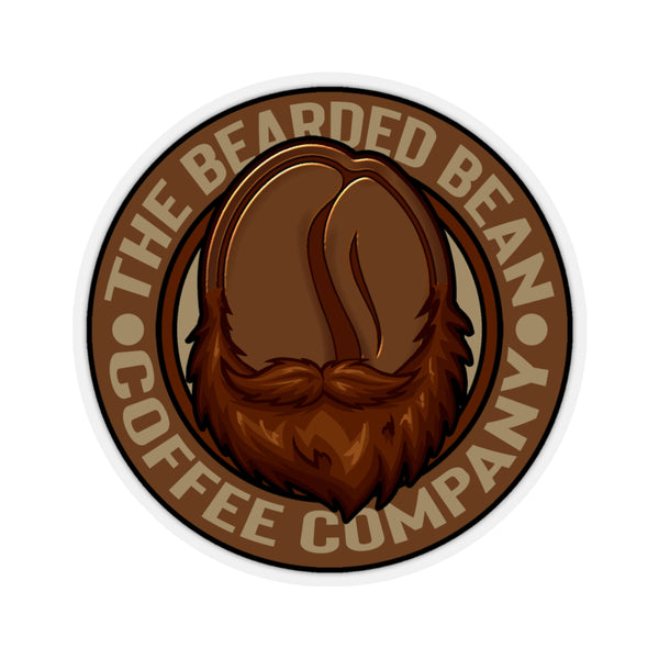 New BBCC Logo Kiss-Cut Sticker - The Bearded Bean Coffee Company