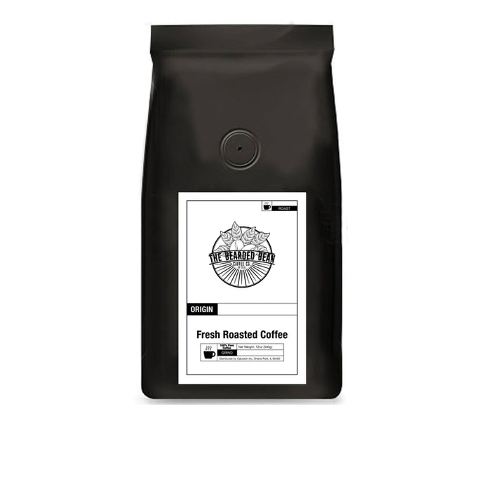 Single Origin Favorites Sample Pack: Brazil, Colombia, Costa Rica, Ethiopia, Honduras, Tanzania - The Bearded Bean Coffee Company