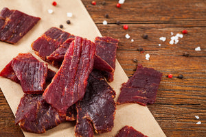 Hombre Beef Jerky - Regular Cut - 6.0 oz Package