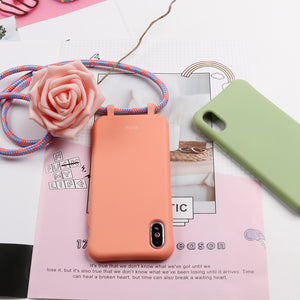 Crossbody phone cases for all iPhone pro max 8 plus  models