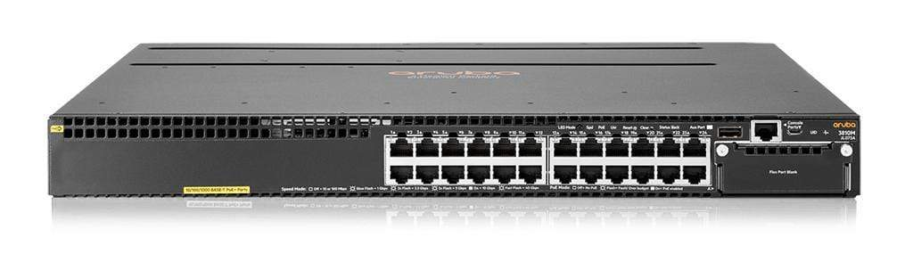 Aruba JL073A - Aruba 3810M 24G PoE+ 1-slot Switch  - IT Yuda