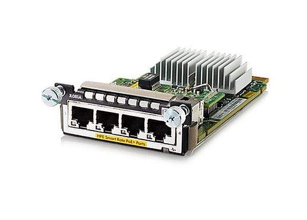 JL081A - Aruba 3810M/2930M Smart Rate PoE+ Module