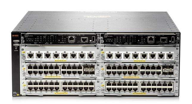JL095A - Aruba 5406R 16-port SFP+ (No PSU) v3 zl2 Switch