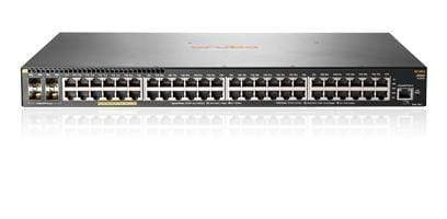 JL256A - Aruba 2930F 48G PoE+ 4SFP+ 1/10GbE port Switch