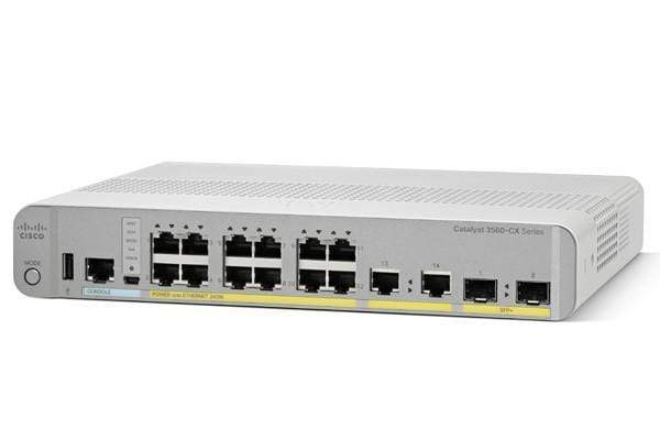 WS-C3560CX-8TC-S - Cisco 3560-CX Compact switch 8GE IP Base