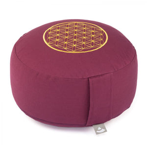 BODHI MEDITATION PILLOW ROUND FLOWER OF LIFE