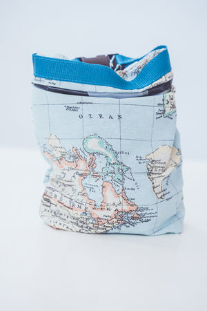 CRIATURA WORLD MAP BIKINI BAG - LIMITED EDITION