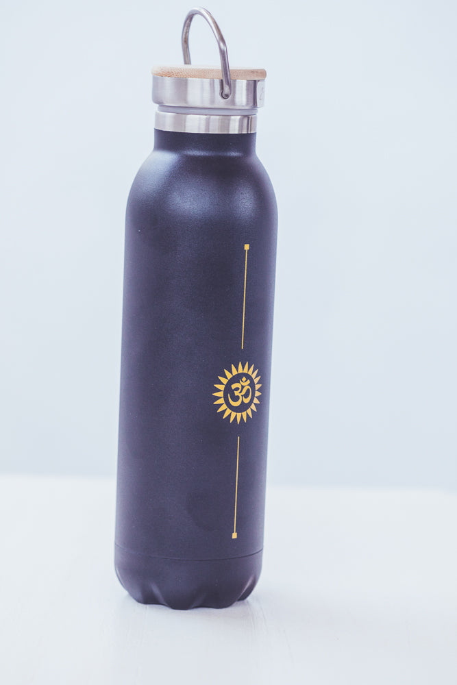 BODHI TERMO WATER BOTTLE OM BLACK
