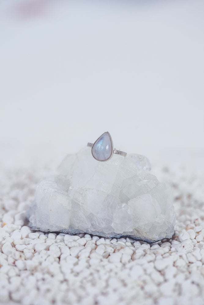 LAITLAH BIG DROP MOONSTONE RING