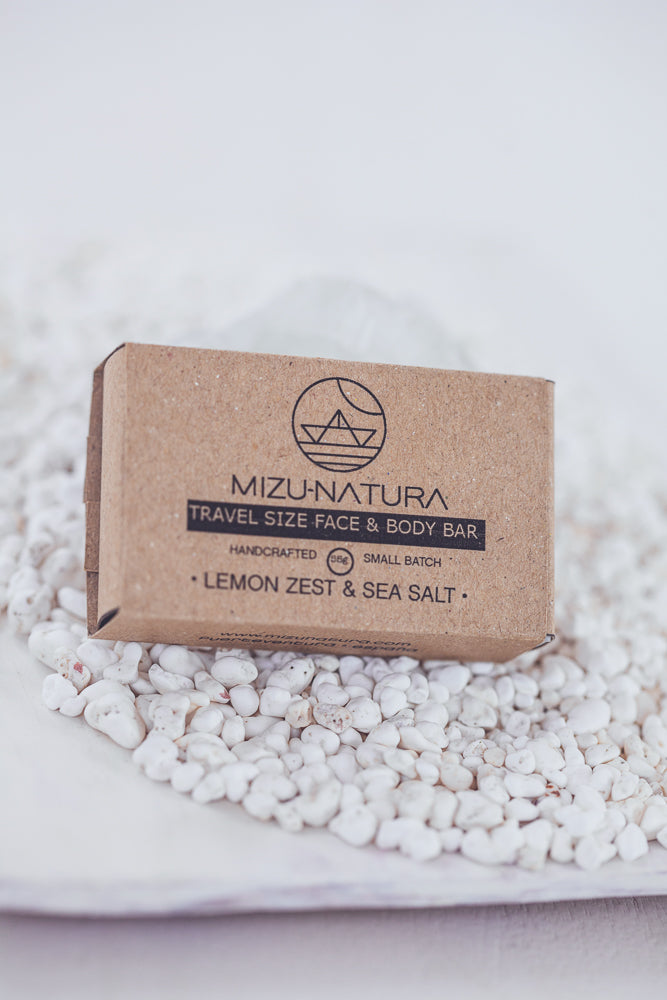 MIZU LEMON & SEA SALT HANDMADE SOAP