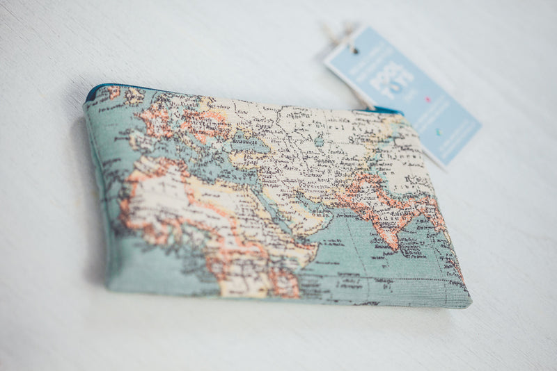 CRIATURA WORLD MAP PURSE - LIMITED EDITION