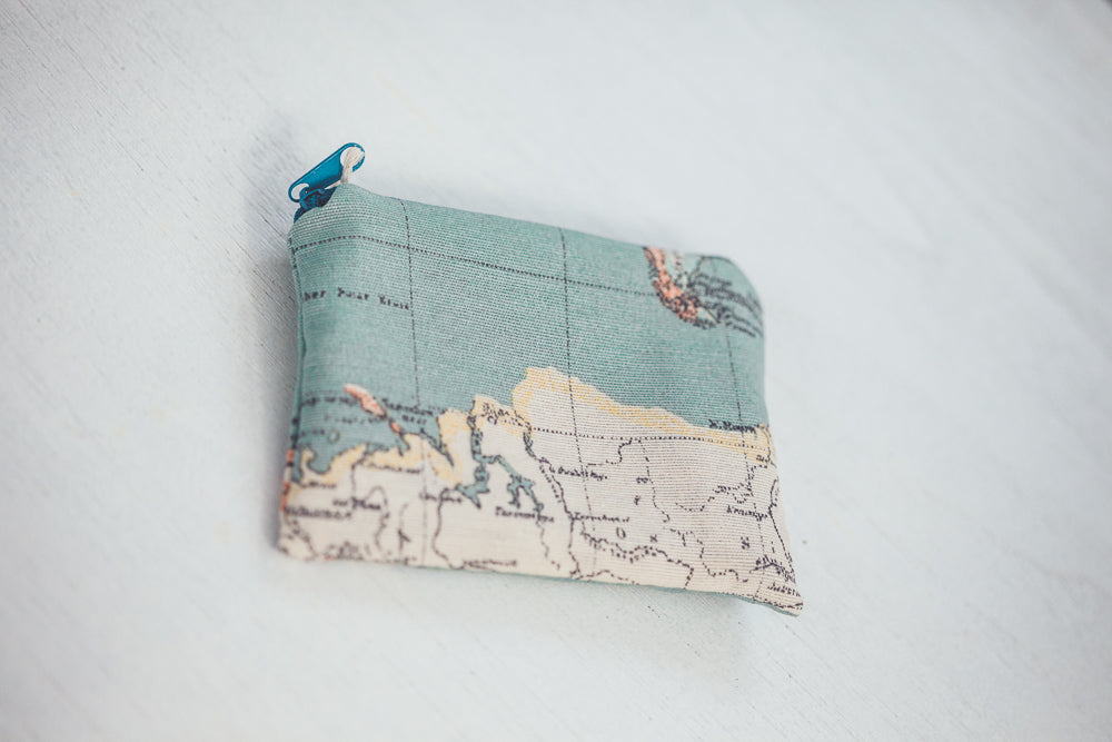 CRIATURA WORLD MAP CHANGE PURSE - LIMITED EDITION