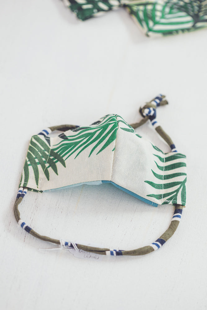 CRIATURA PALM LEAVES  FACE MASK - LIMITED EDITION