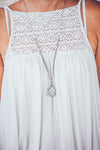 JHANA MOONSTONE CRYSTAL NECKLACE