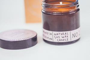 JHANA N.02 CRYSTAL CANDLE - ROSE + PATCHOULI