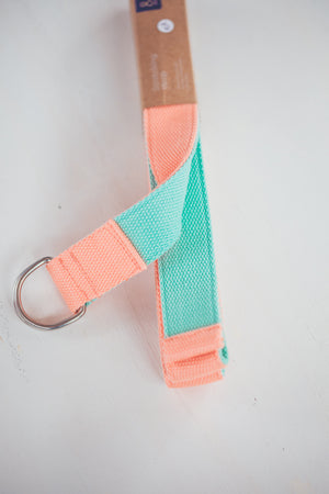 MELON AND LIME YOGA STRAP
