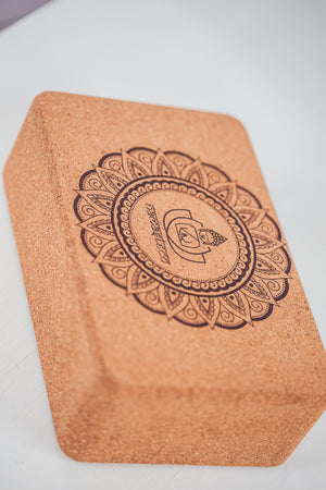 NAMASTECO CORK YOGA BLOCK