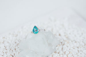 LAITLAH BIG DROP TURQUOISE RING