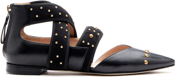 Cadorna Black with Studs