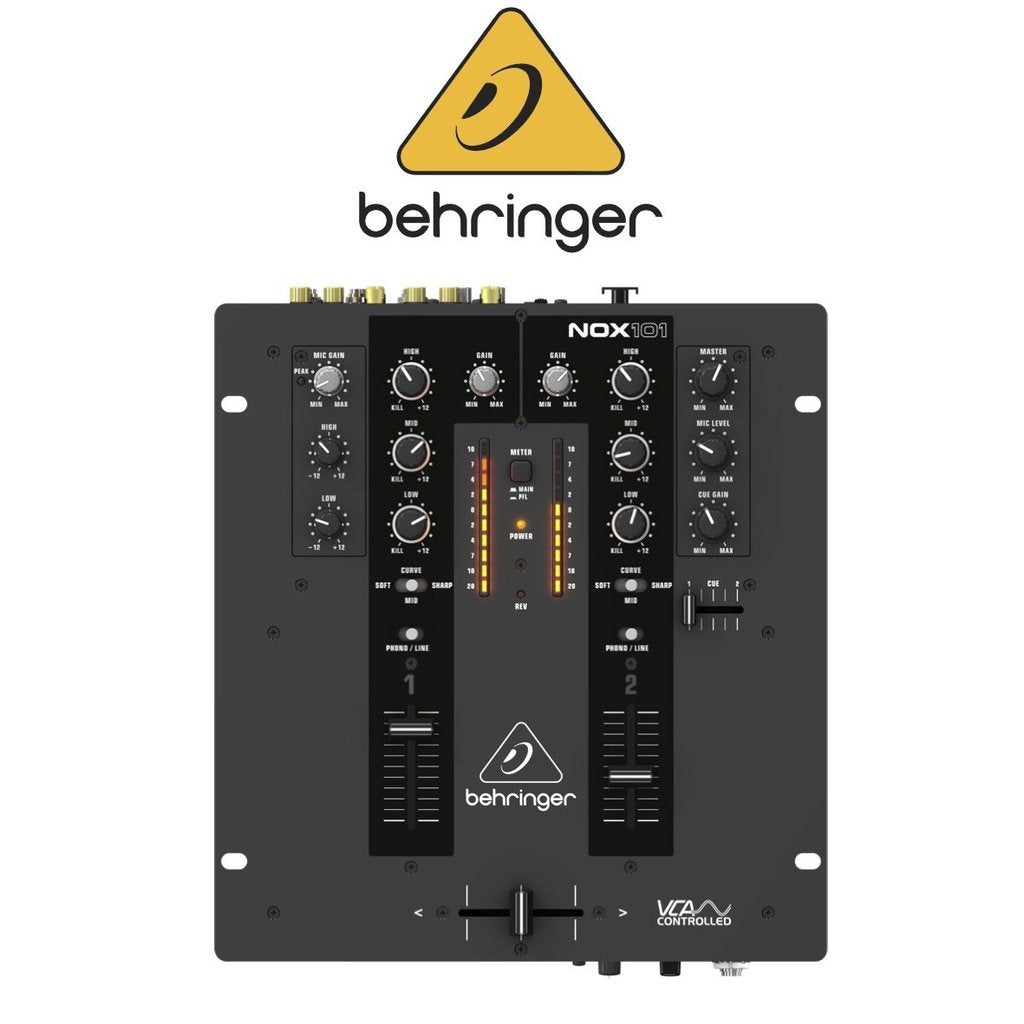 Hire Behringer NOX 101 DJ Mixer - Alpha Sound and Lighting