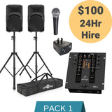 Sound Hire Package 1 - Alpha Sound and Lighting