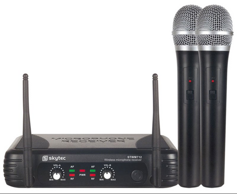 Skytec Wireless mic Hire - Alpha Sound and Lighting