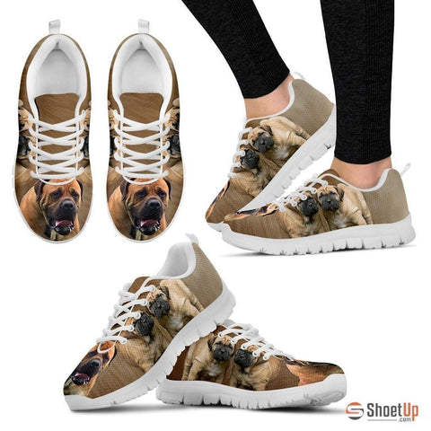 South African Boerboel Dog Running Shoes For Women-Free Shipping