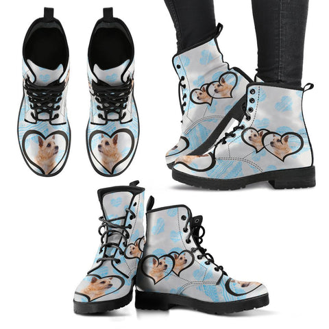 Valentine's Day Special-Norwich Terrier Print Boots For Women-Free Shipping