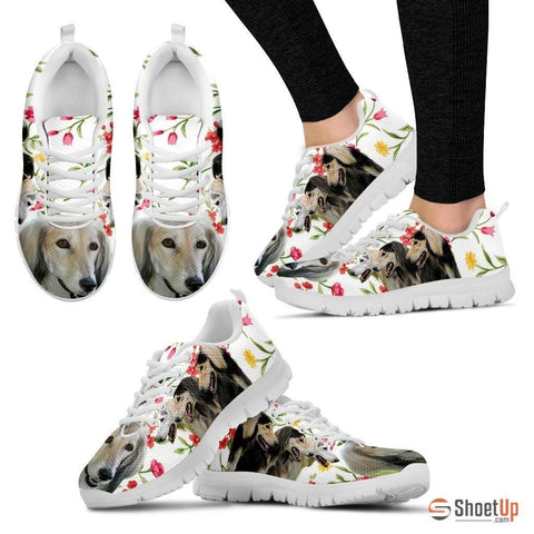Saluki Dog Running Shoes For Women-Free Shipping