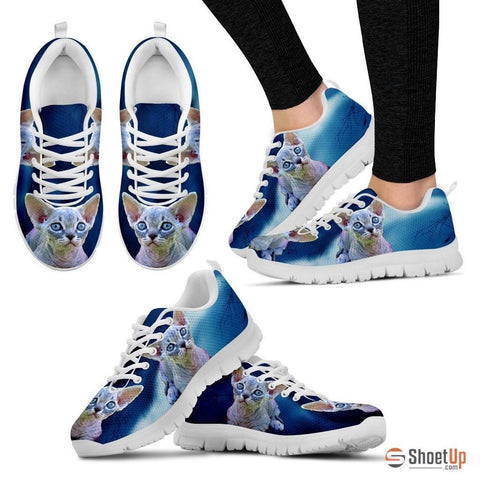 Minskin Cat (Black/White) Running Shoes For Women-Free Shipping