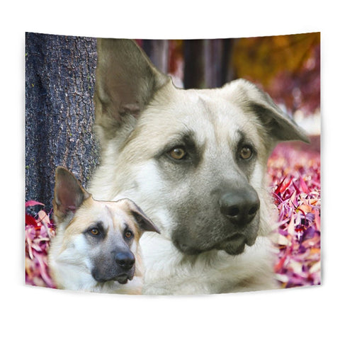 Cute Chinook Dog Print Tapestry-Free Shipping